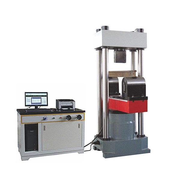微机控制钢轨静弯承载力试验机